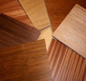 types of hardwood plywood
