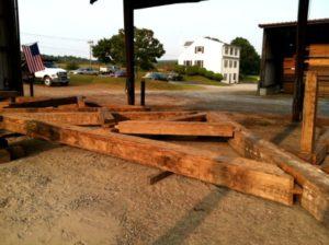 Reclaimed Timber Frame